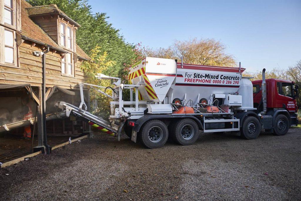 Mix Onsite Volumetric Concrete in Ipswich, Suffolk   Eastern